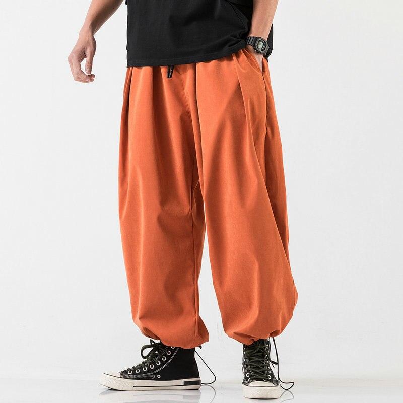 Harajuku hombres pantalones Harem 2020 nuevo joggers de hip hop pantalones ribete hombres mujeres moda Streetwear Pantalones Casual