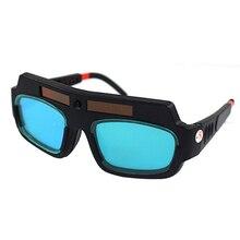 Gran oferta, 1 unidad, Máscara de Soldadura Auto oscurecimiento con energía Solar, casco, gafas de soldador, lentes Arc Anti-shock para protección ocular