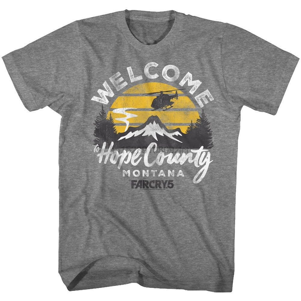 Hasta llorar 5 camiseta espero que el condado de Montana camiseta Heather camiseta de hombre efecto 3D de talla grande de algodón Tops camiseta (1)