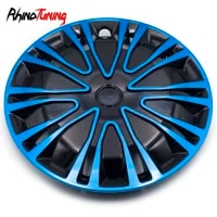 1pc 14in car wheel rims caps for 390mm universal center tire covers hubcap auto refit styling 10spoke clip trims