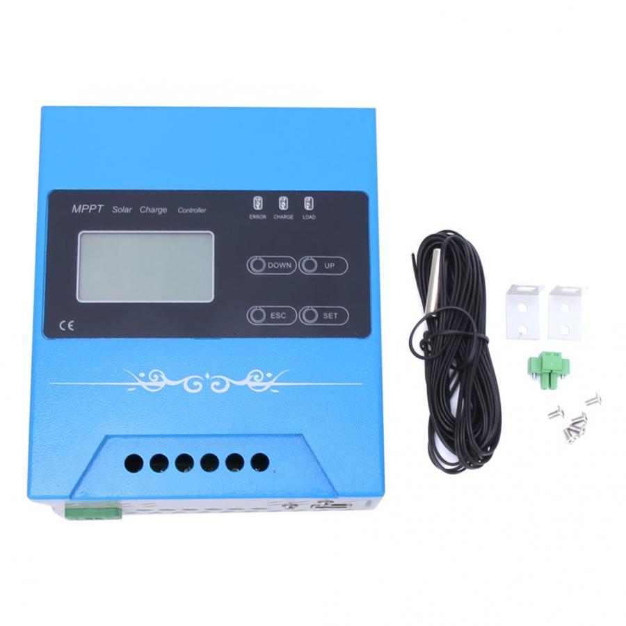 Mppt controlador de carga solar 12 v/24 v/48 v/96 v bateria regulador de carga controler painel solar