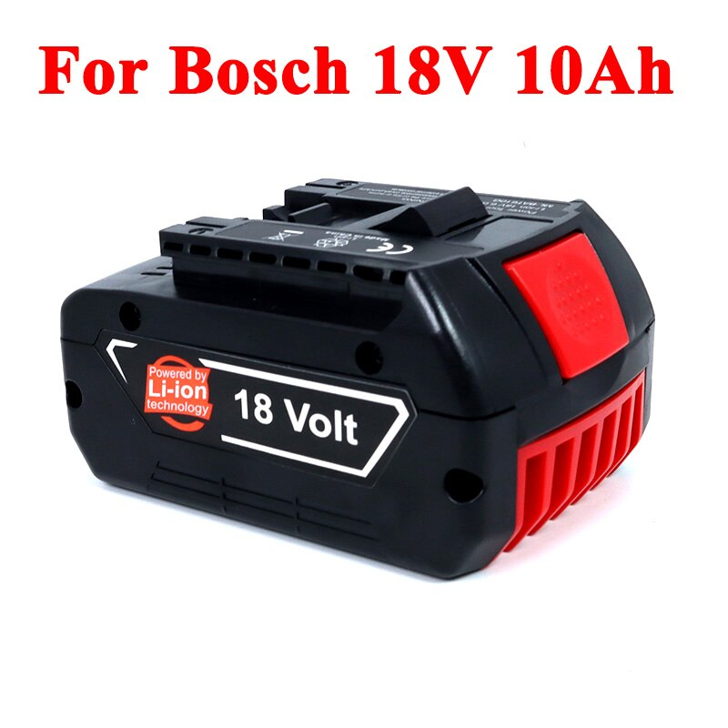 18V 10Ah 18650 Wiederaufladbare Li-Ion Akku 10000mAh Für Bosch BAT609 BAT610G 18v Batterie Backup Tragbare Ersatz