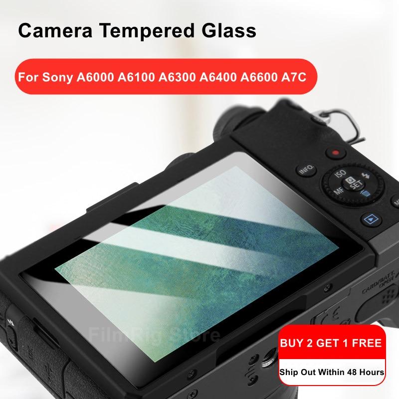 Protector de pantalla LCD de cristal templado para cámara Sony Alpha A6400,...