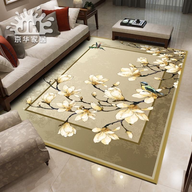 سجادة أكريليك بتصميم متوسطي بسيط ، طراز مرساة 4000 × 3000 مللي متر لغرفة المعيشة أو طاولة الشاي أو غرفة النوم