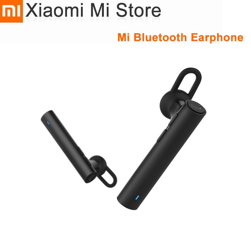 100% Original Xiaomi Bluetooth In-ear Earphone Youth Edition Bluetooth 4.1 Build-in Mic Handfree For Redmi 4X Mi A1 Mi 6