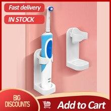 Soporte de pasta dental montado en la pared, accesorios de baño para Oral B, Braun Bayer