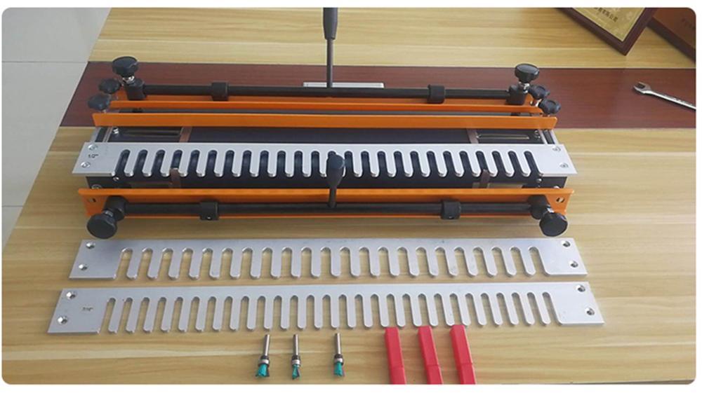 Высокое качество 24-дюймовый деревянный шипорезный Станок ласточкин хвост деревообрабатывающий инструмент ласточкин хвост соединения с 1 п...