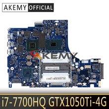 Pour Lenovo légion Y520-15IKBN 5B20N00280 DY512 NM-B191 véritable carte mère de travail avec i7-7700HQ 2.8GHz CPU & GTX 1050Ti 4G GPU