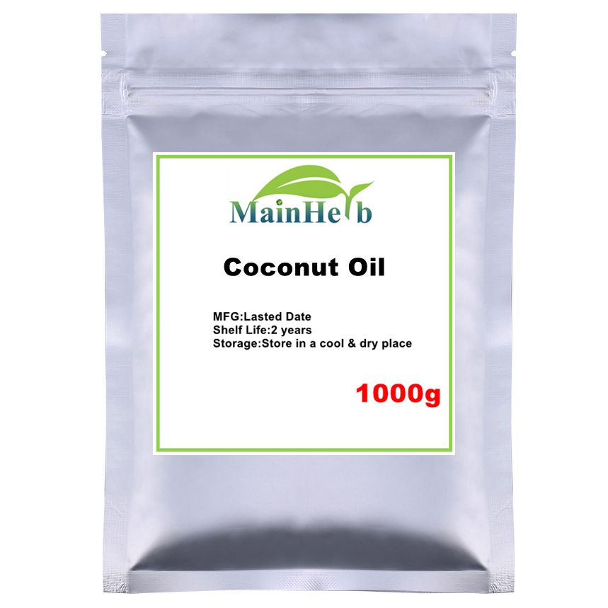 Coconut Oil For Sterilizes and detoxifies, moisturizes the skin, improves dry skin, eliminates wrinkles and acne, softens hair