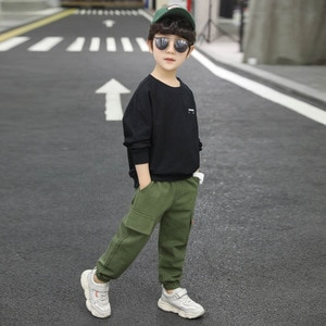 Casual children's suits are recommended in spring clothes
