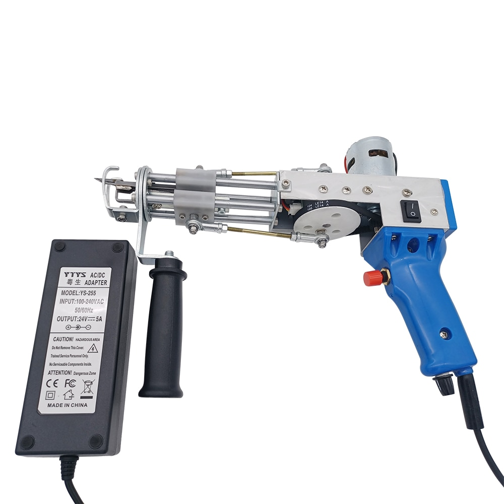 In stock!Electric carpet tufting gun hand gun Carpet weaving flocking machines Loop Pile TD-02 enlarge