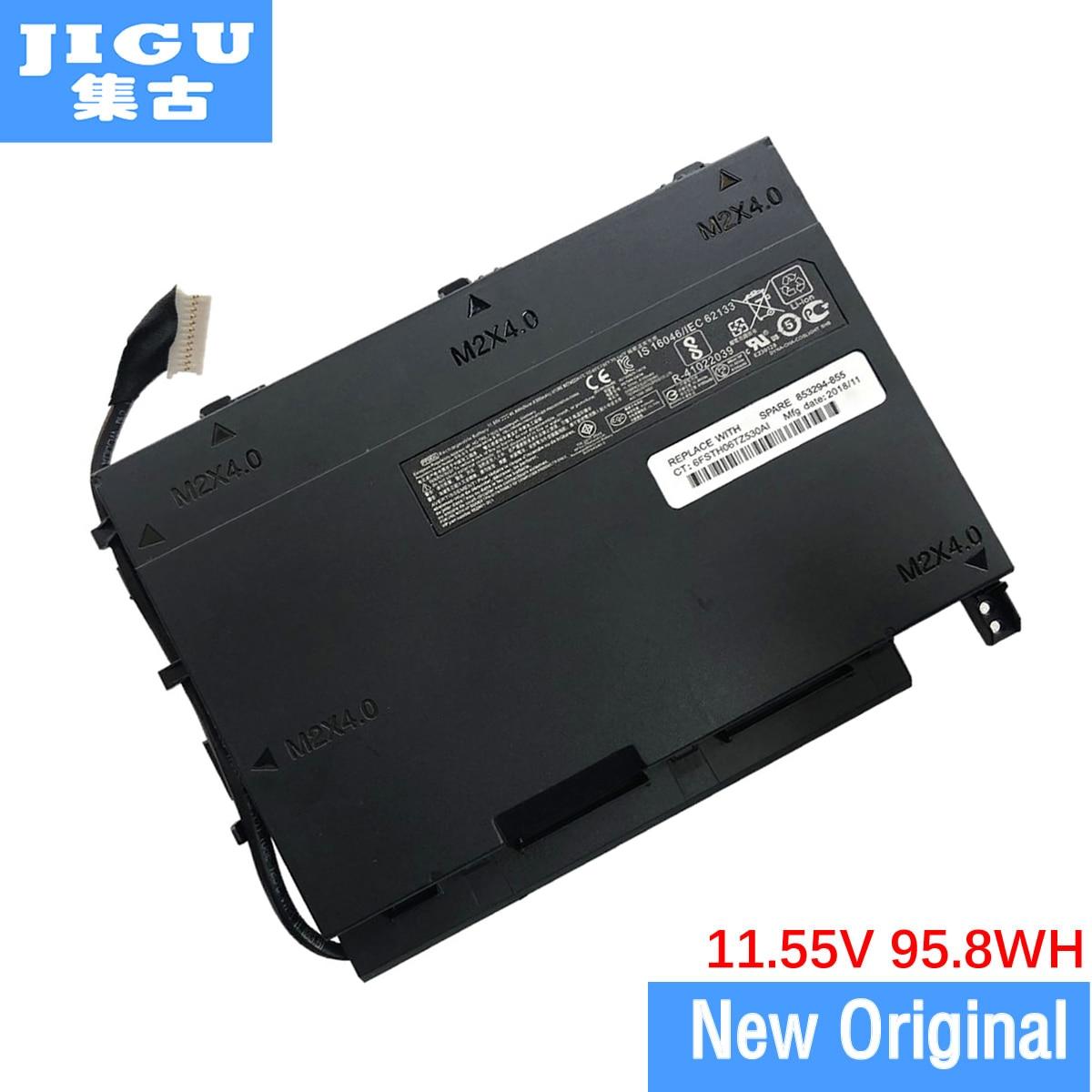 JIGU For HP 852801-2C1 PF06XL HSTNN-DB7M Original Laptop Battery For Omen 17-w100 17-204TX 17t-w200 11.55V 95.8WH