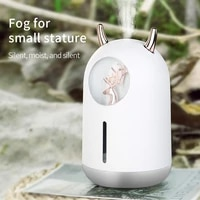 2021 new humidifier cute pet mini household small moisturizing aromatherapy car creativity air bear usb led night lamp fogger