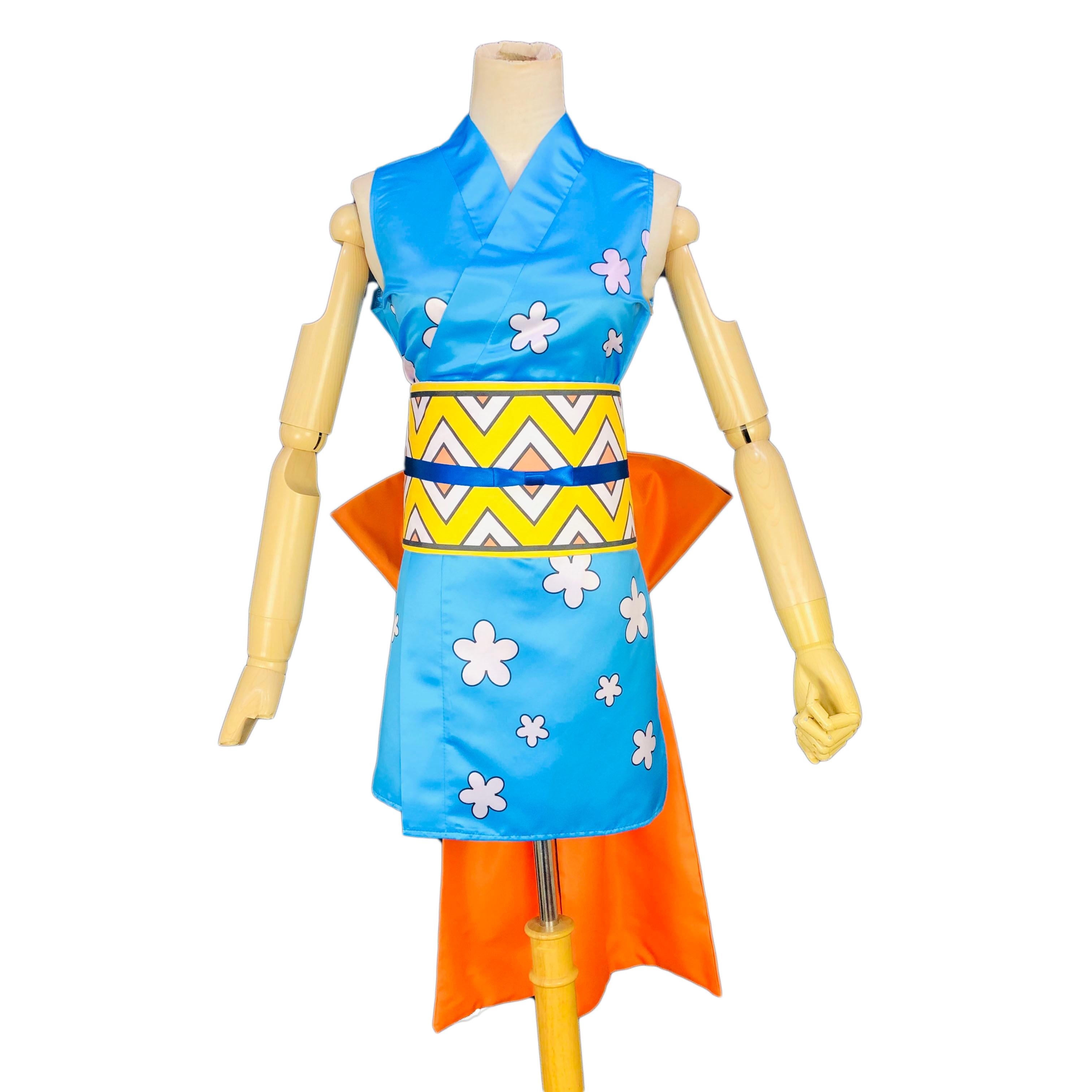 2019 personalizar una pieza Wano país Arc Cosplay disfraz Wano Kuni Nami Cosplay disfraz