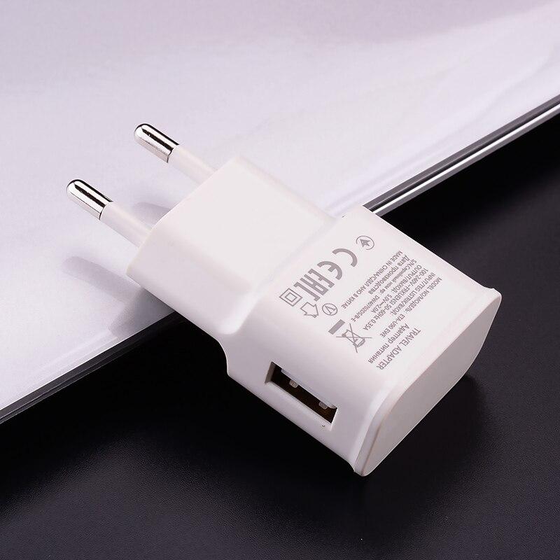 Настенное зарядное устройство с USB-портом, 5 В, 2 А, Type-C, Micro, зарядный кабель для Xiaomi POCO X3, Mi 10T, Note 9, 8, 7 Pro, Redmi 4X, 5A, 6A, 8A, Redmi 9A, 9C-1