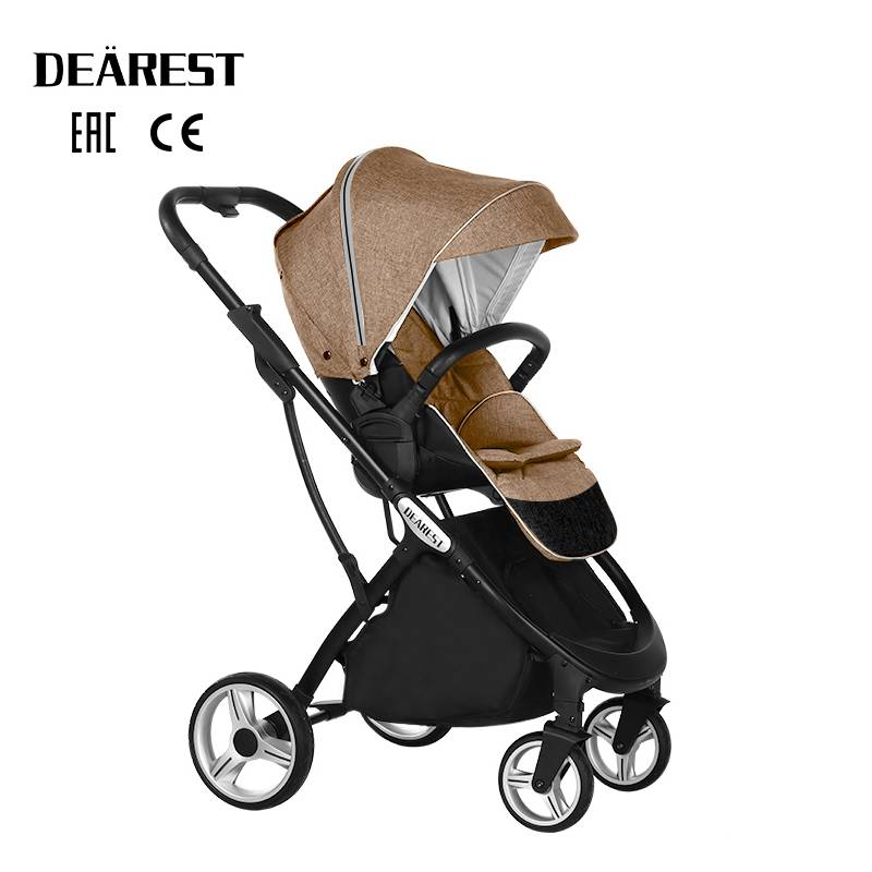2021 New Baby Stroller High Seat  Landscape Two - Way  Dearest 1108 Four Seasons Free Shipping In Russia enlarge