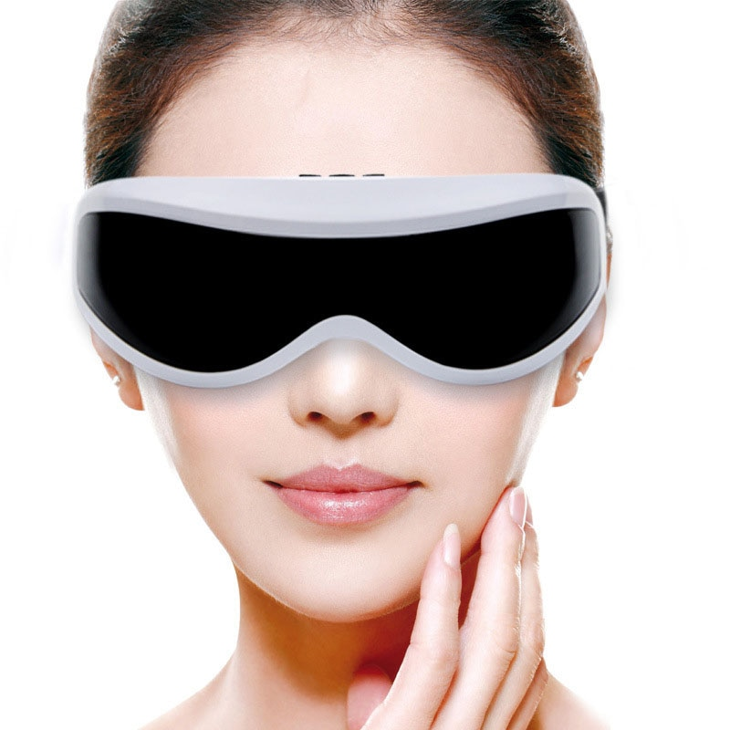 Electric Eye Massager for Migraine To Improve Eye Vision, Eye Protection Glasses, Wireless Vibrating Magnetic Eye Vibrators