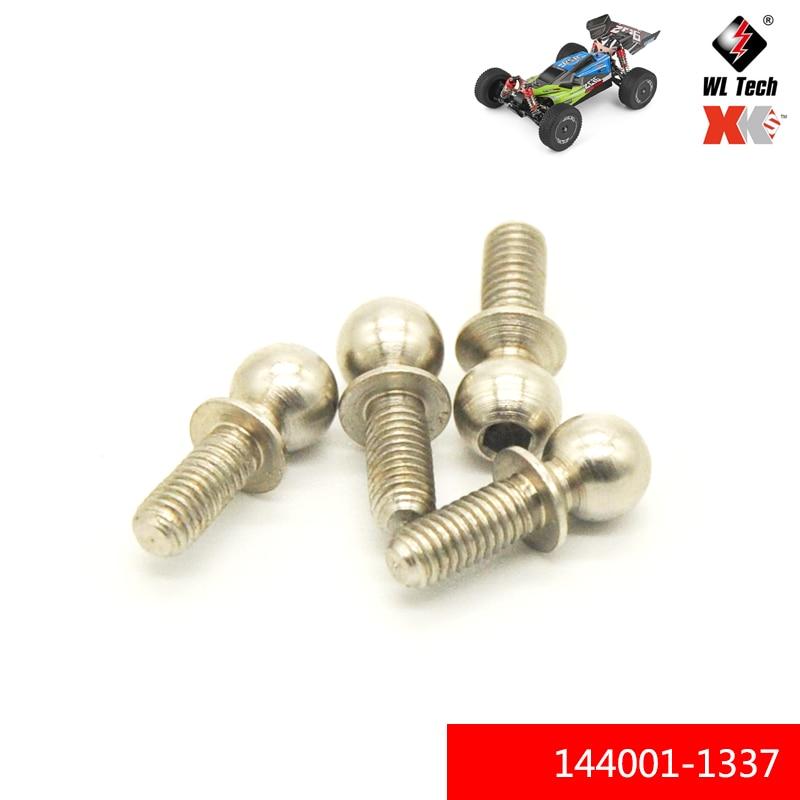 WLtoys 1:14 144001 144001-1337 Ball Head Screws 4.9*13.6 Set RC car R/C Spare Parts Accessories Mode