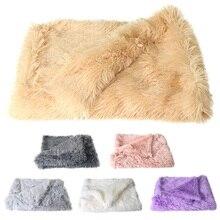 Couverture en velours doux pour animaux   Tapis chaud et moelleux, Double couche, pour petits moyens et grands chiens