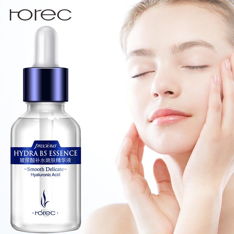 ROREC Hyaluronic Acid Moisturizing Face Serum Facial Anti-Aging Anti-Wrinkle Anti-Acne Liquid Collagen Whitening for