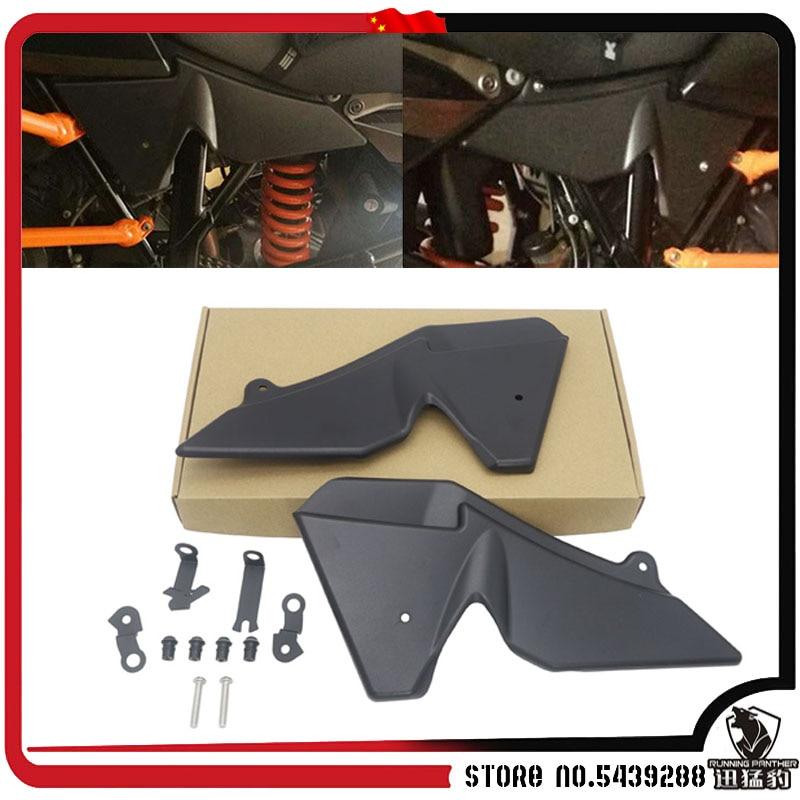 ل 1050 1090 1190 1290 سوبر مغامرة R/S/T ADV دراجة نارية المبرد الجانب الحرس هدية غطاء حامي لوحة