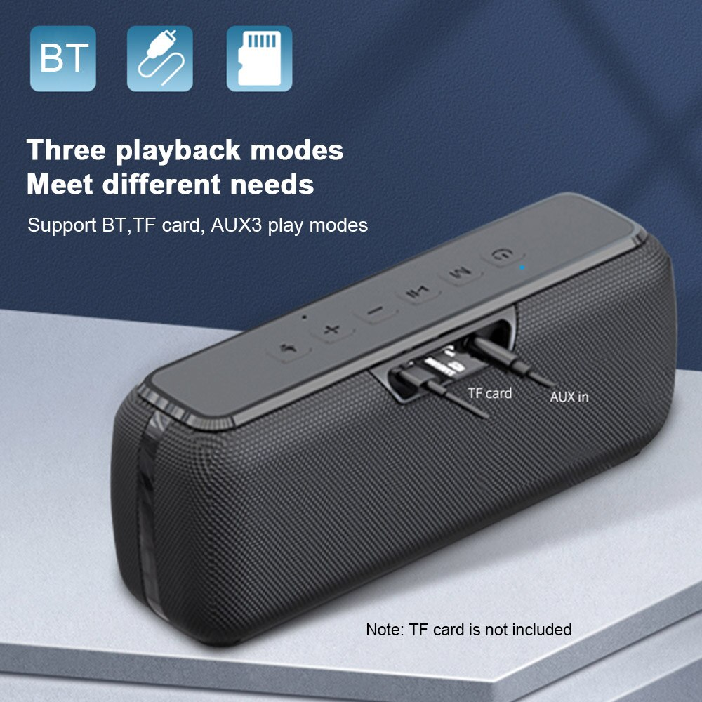 Wireless Audio Smart Speakers Voice Assistant 60W Wireless Bluetooth Speaker TWS Bass with Subwoofer IPX5 Waterproof Soundbar enlarge