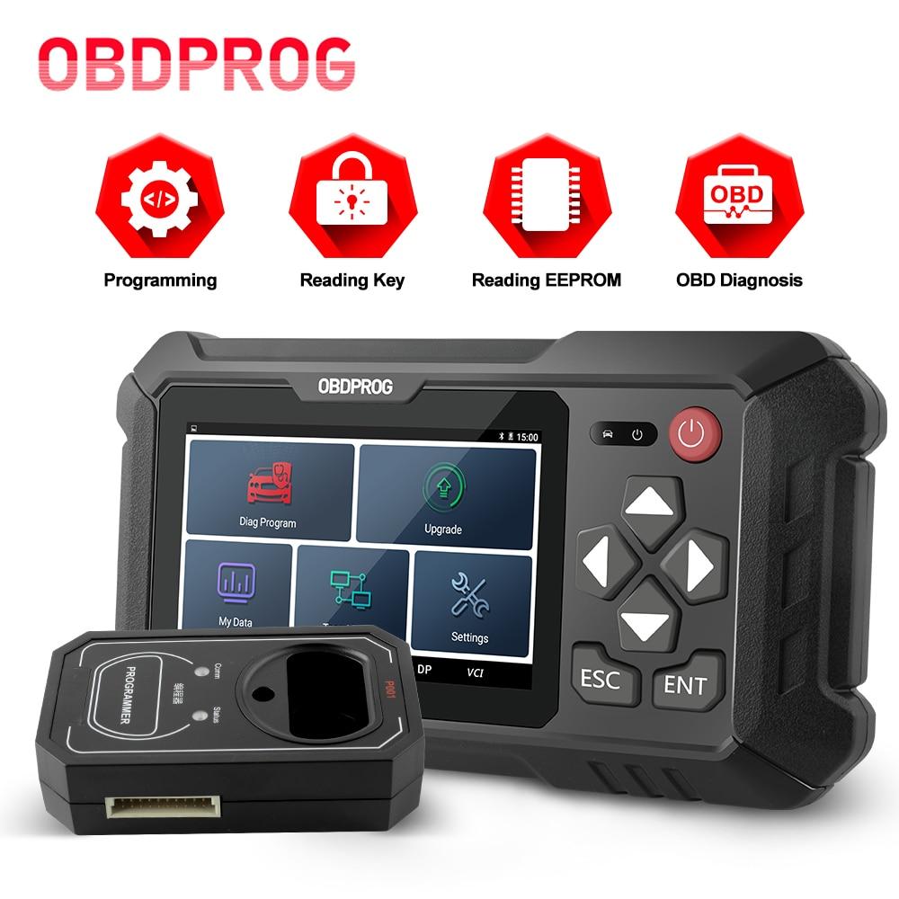 OBDPROG 501 Key Programmer Immobilizer EEPROM Car Key Pin Code Reader Diagnostic Tool Key Programmer