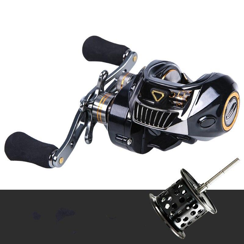 High Speed 7.1:1 Gear Ratio Baitcast Fishing Reel 12 1 Ball Bearing Baitcasting Fishing Reel Baitcaster Tackle Molinete De Pesca