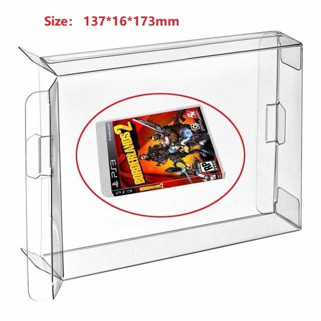 Ruitroliker 30 Uds caja transparente caso de la CIB Protector para PS1 grueso 2 CD PS2 PS3 PS4 PSP PS Vita caja