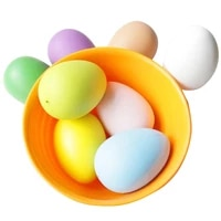 12pcs easter egg plastic eggs funny easter egg toy creative easter gift decor for kids friends wedding birthday party decoration