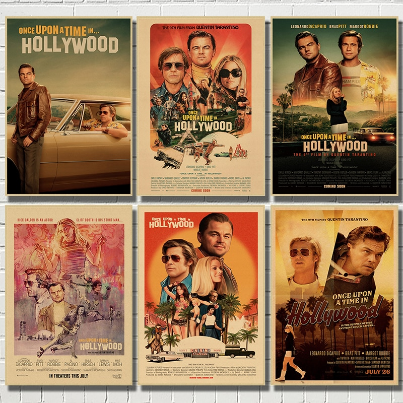 2019-new-movie-poster-once-upon-a-time-in-hollywood-retro-art-prints-vintage-wall-decor-pictures-quentin-tarantino-posters