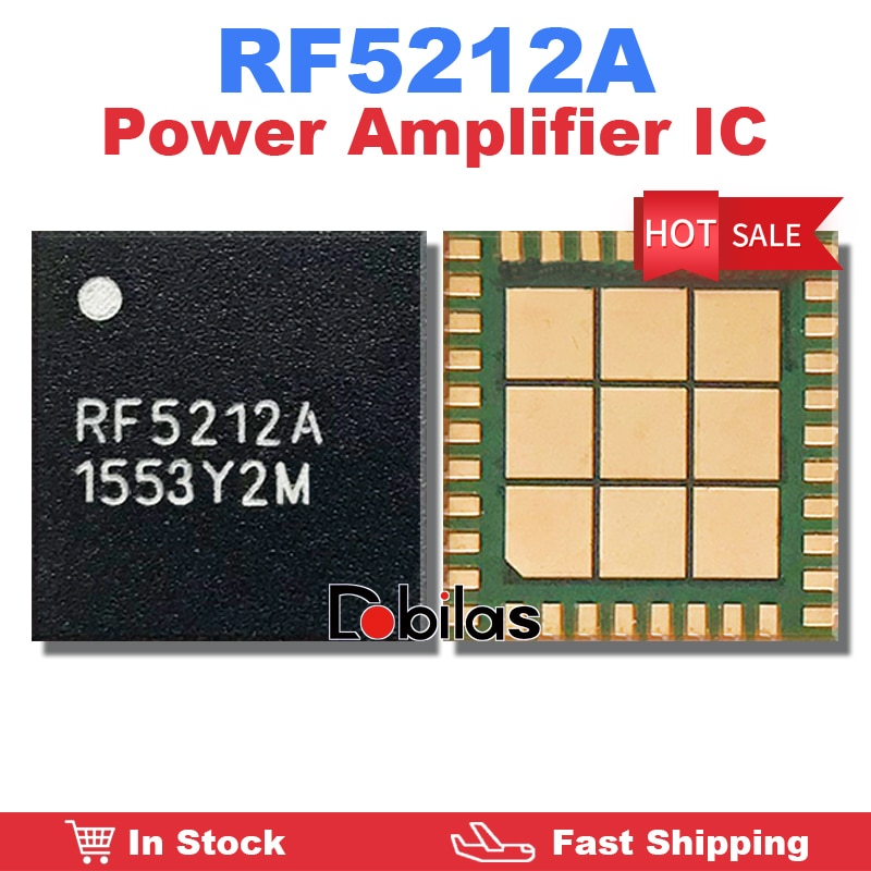 3Pcs/Lot RF5212A New Original Power Amplifier IC Mobile Phone Integrated Circuits Replacement Parts