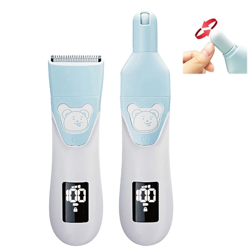 Children's Hair Clipper Ultra-quiet Rechargeable Electric Kids Clipper Baby Trimmer For Hair Cutting Hair Clipper For Children