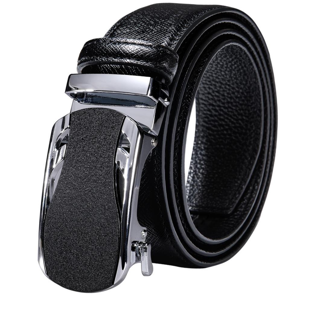 Designer Black Blue Brown Red White Green Navy Tan Orange Leather Mens Belts Automatic Ratchet Buckle Men Belt Waist Straps Gift