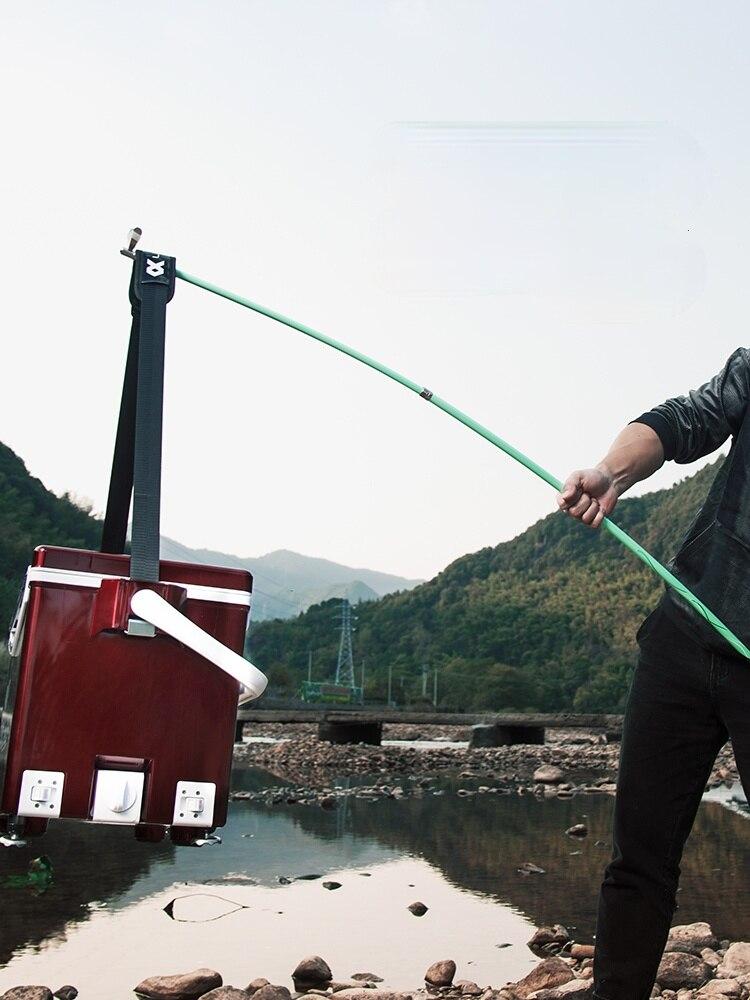 2.1M Carbon Fortress Bracket Fishing Rod Bracket Ultra-light Hard Fishing Box Fishing Chair Turret Frame Rod Shelf enlarge