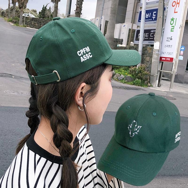 Gorra de papá para mujeres, hombres, Bordado de letras, de algodón, ajustable,...