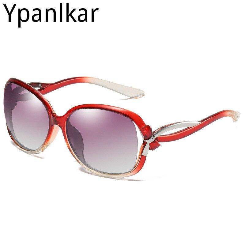 Women's Polarized Sunglasses Fashion Trendy Wild Classic Driving Sunglasses Large Frame Frame PC Glasses
