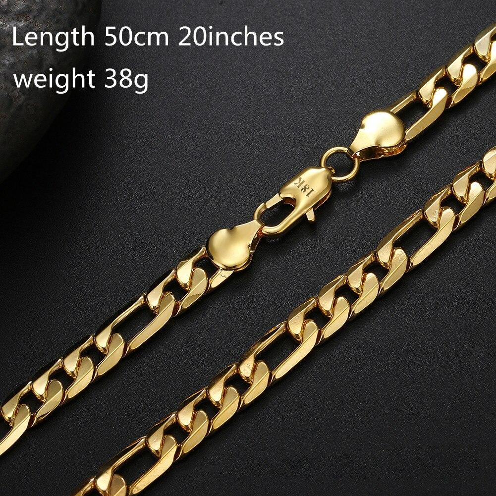 aglover-boutique-18-К-золото-8-мм-три-пары-одной-стороны-ожерелье-цепочка-плетения-«Фигаро»-для-мужчин-и-женщин-модные-свадебные-ювелирные-изделия-по
