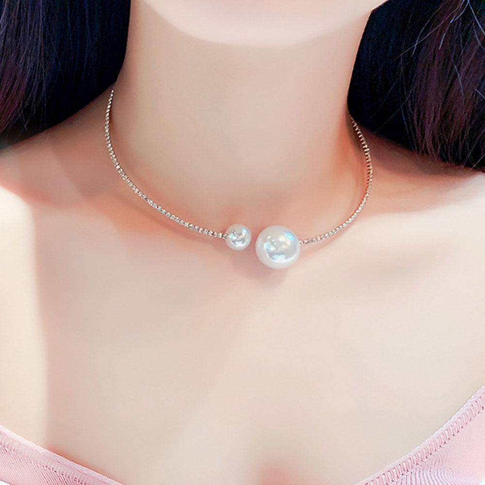 Collar abierto brillante de moda euroamericana, hermoso collar de mujer FY19082501