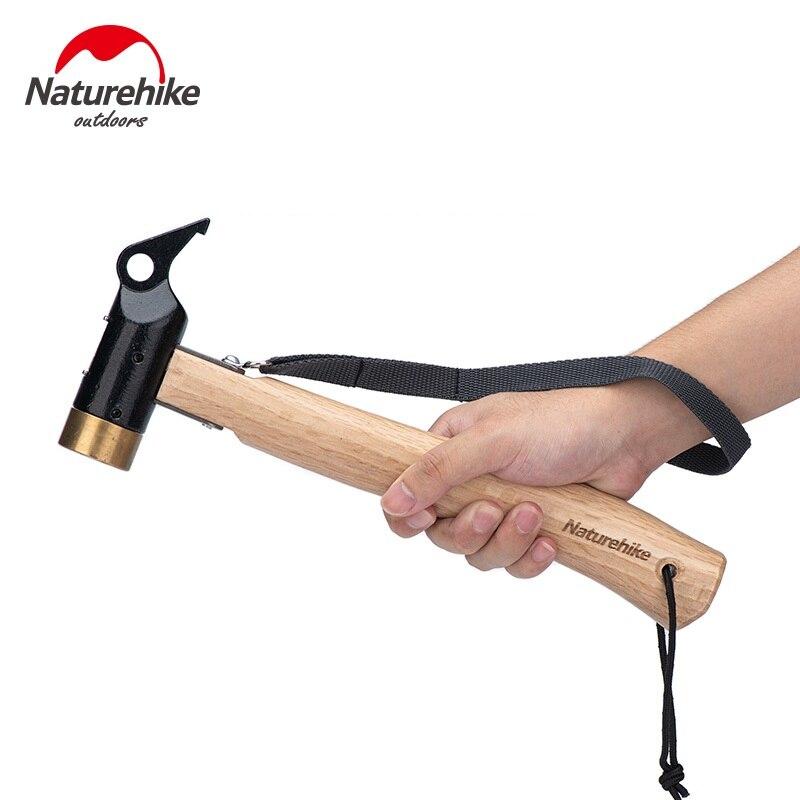 Naturehike уличный Кемпинг медный молоток для палатки брезентовые гвозди звеньевидные уличные многофункциональные инструменты