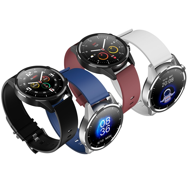 Full touch smart watch women waterproof BT Call men's watches With microphone music Fitness Tracker Smartwatch for xiaomi iphone
