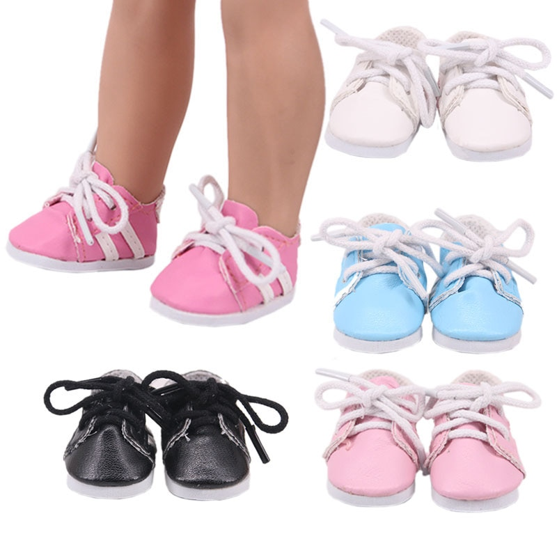 handmade high quality doll shoes for blythe azone momokolati jerryb doll accessories toys gift girl play house free shipping Doll Shoes Handmade Boots 5 cm 14-Inch Doll Shoes For 14 Inch  Baby New Born Doll Clothes Accessories Girl`s  Toys