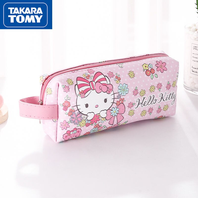 printio сумка hello kitty Дорожная сумка для туалетных принадлежностей TAKARA TOMY с милым рисунком Hello Kitty, сумка для хранения, водонепроницаемая сумка для макияжа