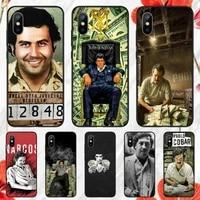 pablo escobar phone case for iphone 11 12 mini pro xs max 8 7 6 6s plus x 5s se 2020 xr