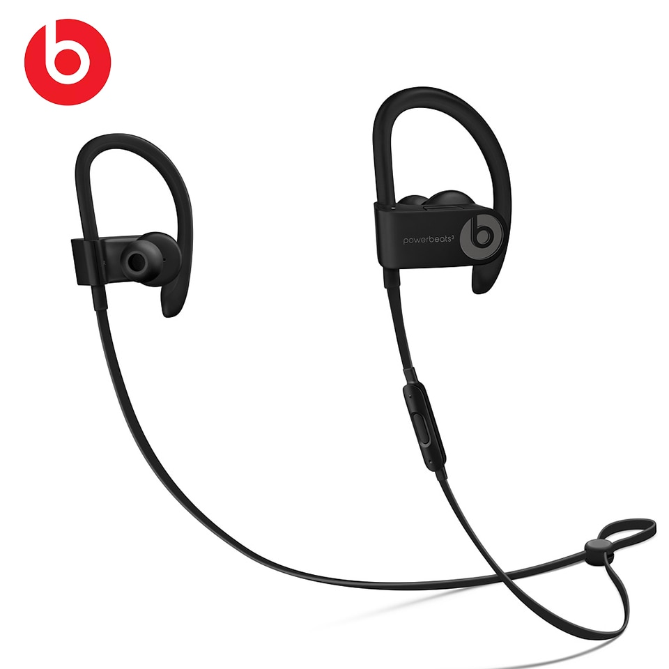 Original Beats Powerbeats 3 Wireless Bluetooth Earphones Sweat Water Resistant Sports Earbuds Hands-free Headphone wth Mic