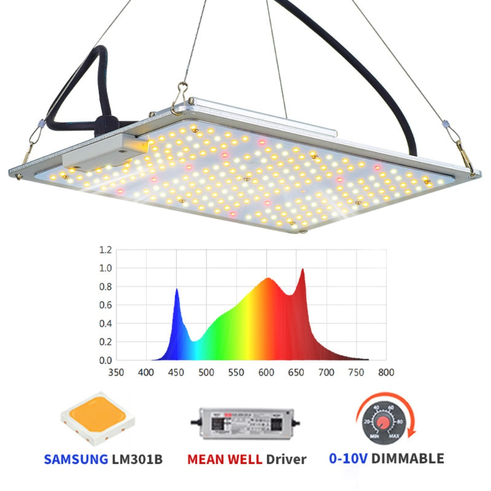 Led quantum board plant growth lamp high-power planting lamp dimmable full spectrum indoor filling light in greenhouse enlarge