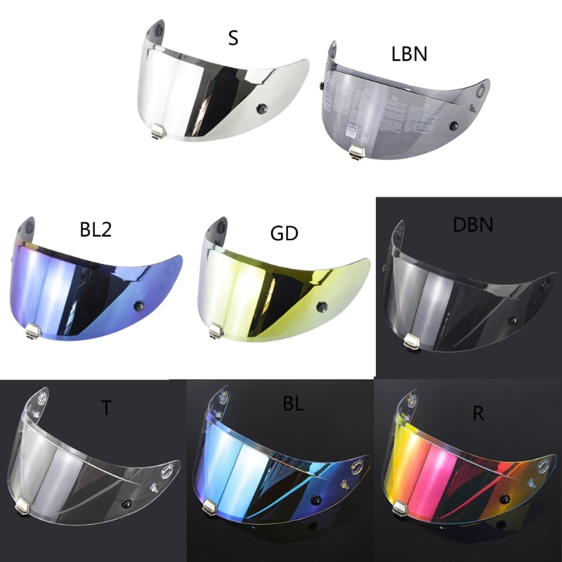 Motorcycle Full Face Helmet Visor Lens REVO Night Vision Helmet Lens for RPHA11 RPHA70 helmet visor for hjc rpha11 rpha70 motorcycle detachable helmet glasses motorbike helmet lens motocross full face visor