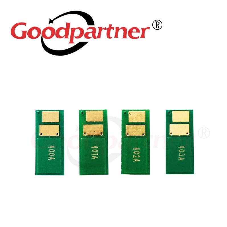 4X 201A CF400A CF401A CF402A CF403A тонер-картридж чип для HP Color LaserJet Pro MFP M274 M277 M252 M252n M252dw M274n M277dw