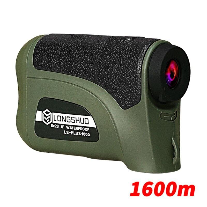 Longshuo-telémetro láser ls1200, telémetro Digital para caza, Golf