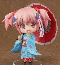 Figurine Puella Magi Madoka Magica kaname madoka 10cm, 332 #, dessin animé, en PVC, nouvelle Collection de figurines, jouets
